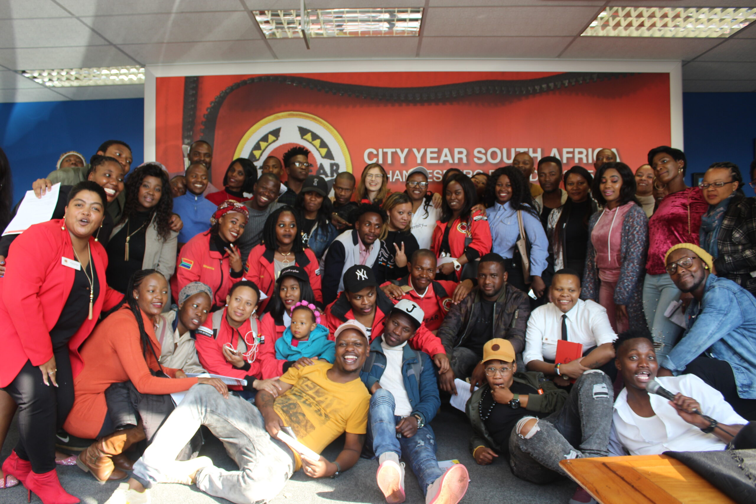 Group of City Year South Africa alumni